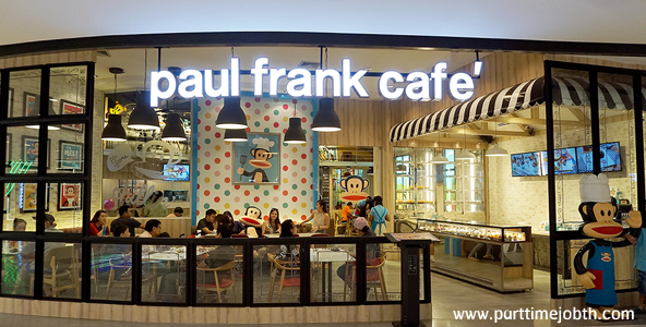 งาน Part Time Paul Frank Cafe