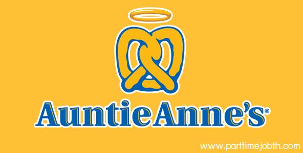 สมัครงาน auntie anne's
