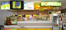 งานพิเศษ Squeeze By Tipco งานบริการร้านเครื่องดื่ม รายได้ดี