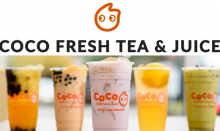 งานพิเศษ coco fresh tea and juice