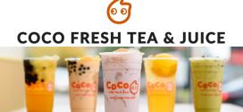 งานพิเศษ coco fresh tea and juice เปิดรับพนักงานร้านชาไข่มุก