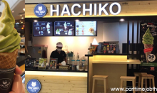 สมัครงานร้านไอศครีม Hachiko
