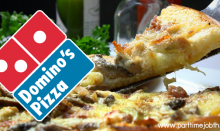 สมัครงาน Domino's Pizza