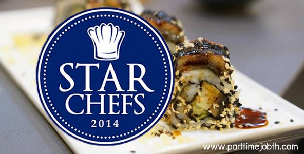 สมัครงาน STAR CHEFS งานบริการร้านอาหารญี่ปุ่น-เสิร์ฟ รายได้ดี