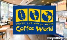 สมัครงานร้าน Coffee World