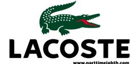 งานขายเสื้อผ้าแบรนด์ LACOSTE เปิดรับพนักงานบริการ วันละ 500