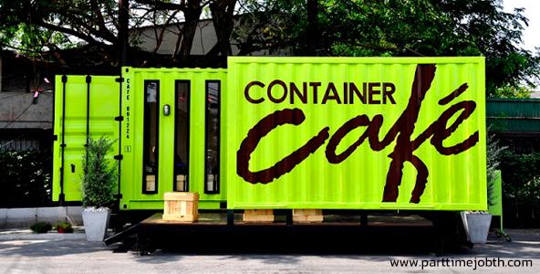 งาน Part Time Cafe' container บริการร้านกาแฟ รายได้ดี ด่วน!!