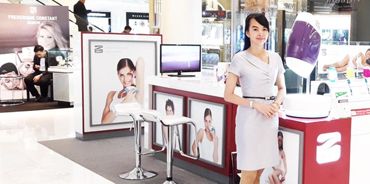 รับพนักงานขาย PC / BA ประจำเคาน์เตอร์ในห้างสรรพสินค้าชั้นนำ