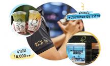 รับพนักงานชงชา / รับออเดอร์  Full Time / Part Time ร้าน KOI The (โคอิเตะ)